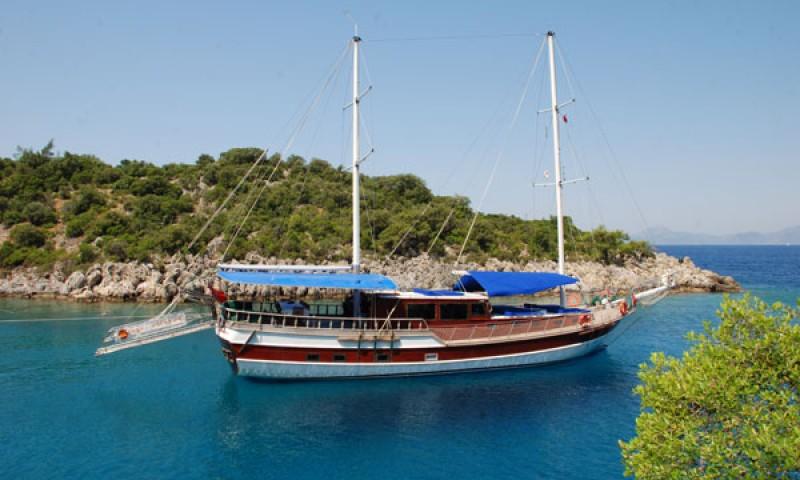Turkey yacht charter (Blue cruise) in Gulf of Gocek