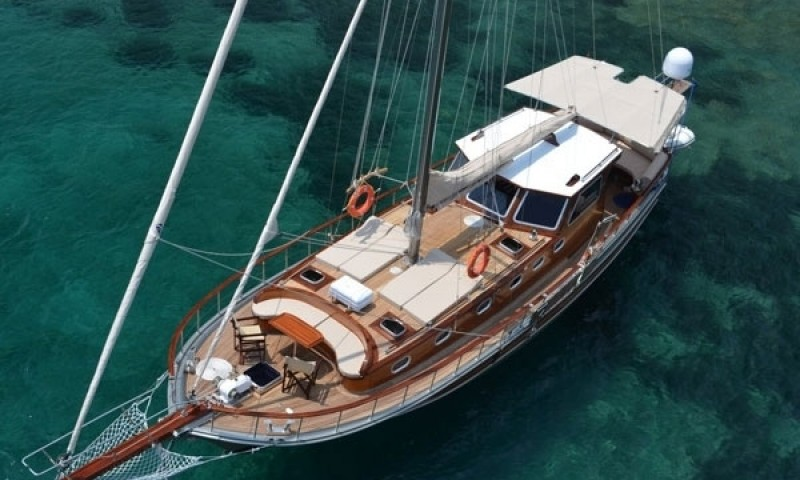 Yachting vacations on a cruise in Bodrum