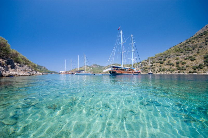Yacht Charters in Turkey - Blue Cruises