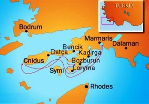 Marmaris-Datca Yacht Cruise