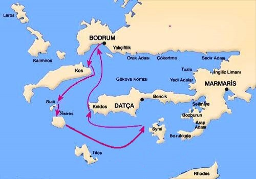 Bodrum-South Dodecanese Yacht Cruise