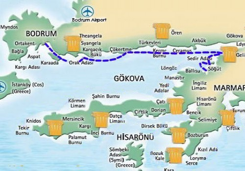 Karacasogut-Bodrum Mini Blue Cruise