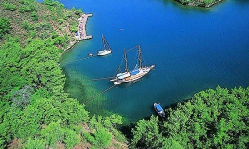 Attractions during your Turkey cruise around Gocek