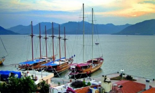 Attractions during a Turkey boat charter in Hisaronu