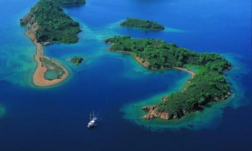 Blue Cruise in Gulf of Gocek