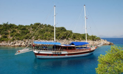 Turkey yacht charter (Blue cruise) in Gulf of Gocek