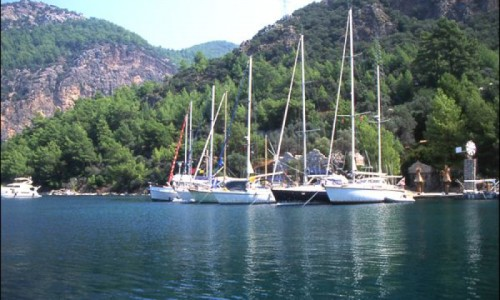 Blue Cruise thru Ekincik, Dalyan and Caunos