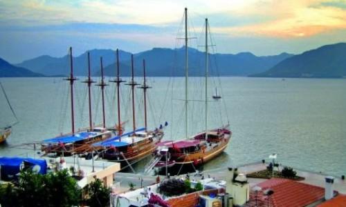 Turchia ... Casa di barche Caicco